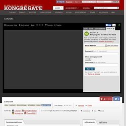 Play CellCraft, a free online game on Kongregate