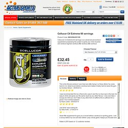 Cellucore C4 Extreme 60 servings