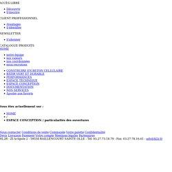 Béton Cellulaire HL2R - ESPACE CONCEPTION / particularités des ouvertures