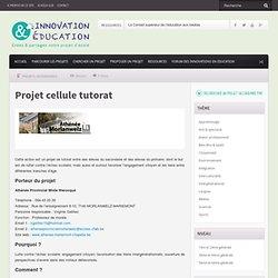 Projet cellule tutorat