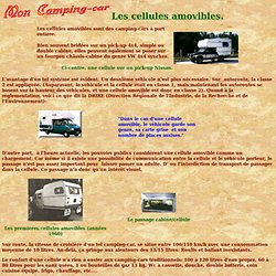 Cellules amovibles