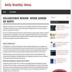 CelluScience Anti-Cellulite Pill