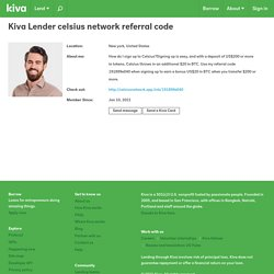 celsius network referral code from New york, United States