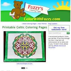 90 Celtic Coloring Pages ✨ Irish, Scottish, Gaelic