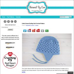 Celtic Dream Earflap Hat Crochet Pattern