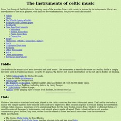Celtic Music Instruments