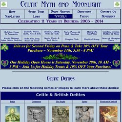 Celtic Myth and Moonlight