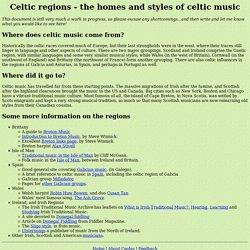 Celtic Regions
