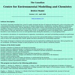 CEMC - BASL4 Model