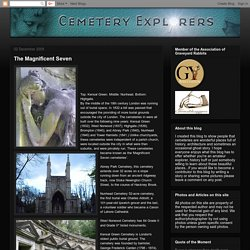 Cemetery Explorers: The Magnificent Seven