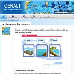 CENALT - Le phénomène des tsunamis