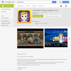 Cendrillon Popup Anglais Livre – Applications Android sur Google Play