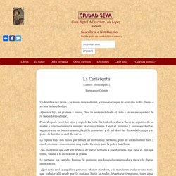 La Cenicienta - Hermanos Grimm - Ciudad Seva - Luis López Nieves