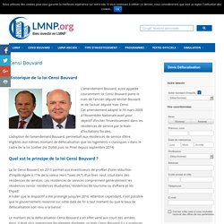 Censi bouvard 2015 - Investir en loi LMNP Censi Bouvard
