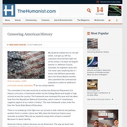 Censoring American History