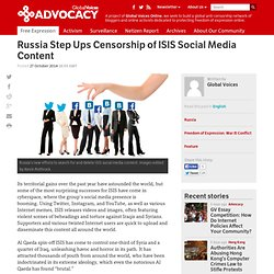 Russia Step Ups Censorship of ISIS Social Media Content