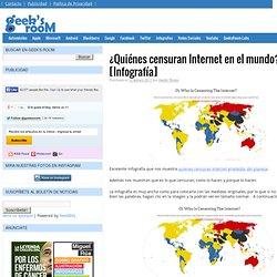 ¿Quiénes censuran Internet en el mundo? [Infografía]