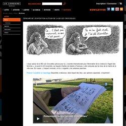 Censure de l'exposition autour de la BD Les Crocodiles