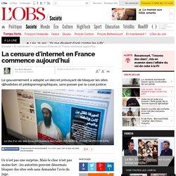 La censure d'internet en France commence aujourd'hui - L'Obs