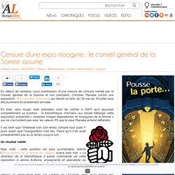 Censure d'une expo misogyne : le conseil général de la Somme assume