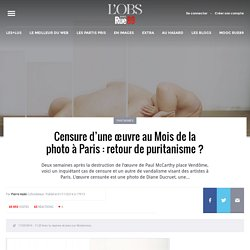 Censure d'une œuvre au Mois de la photo à Paris: retour de puritanisme?