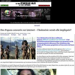 Des Papous censurés sur internet – l'Indonésie serait-elle impliquée?
