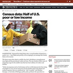 Census data: Half of U.S. poor or low income