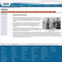 Instructions - History