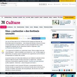 Une centaine de festivals annulés en France
