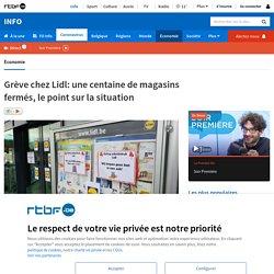 Grève chez Lidl: une centaine de magasins fermés, le point sur la situation