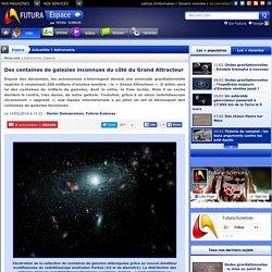 Des centaines de galaxies inconnues du côté du Grand Attracteur
