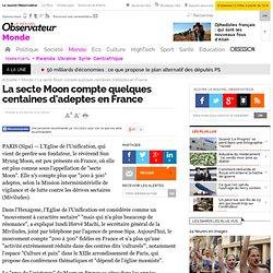 La secte Moon compte quelques centaines d'adeptes en France