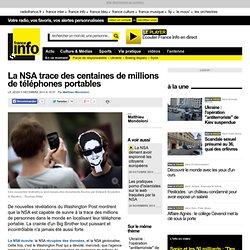 La NSA trace des centaines de millions de téléphones portables