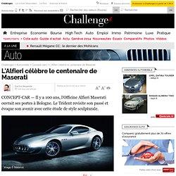L'Alfieri célèbre le centenaire de Maserati