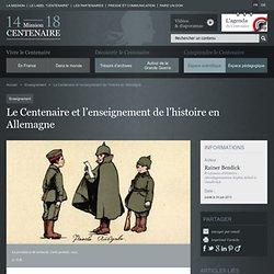Le Centenaire et l'enseignement de l'histoire en Allemagne
