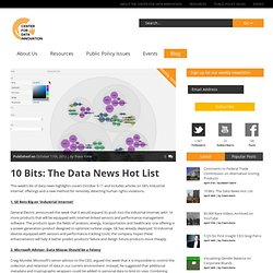Center for Data Innovation » 10 Bits: The Data News Hot List