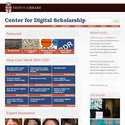 Center for Digital Scholarship