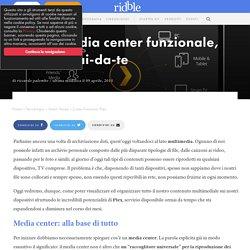 Plex: Il media center funzionale, pratico e fai-da-te