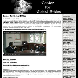 Center for Global Ethics