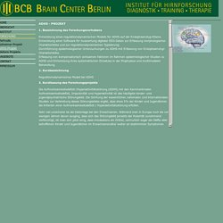 Brain Center Berlin - Institut für Hirnforschung
