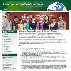 Center for International Education ~ Center for International Education