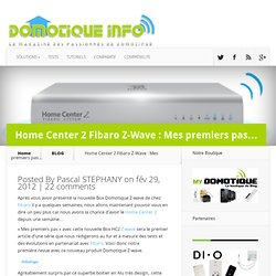 Home Center 2 Fibaro Z-Wave