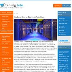Data Center Professionals