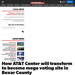 How AT&T Center will transform to become mega voting site in Bexar County