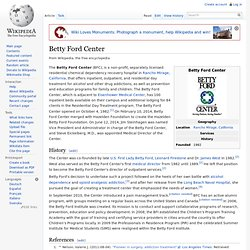 Betty Ford Center