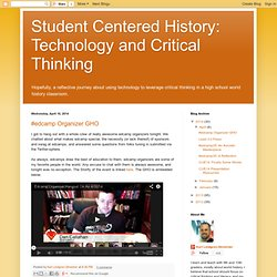 Technology and Critical Thinking