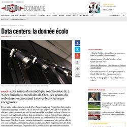 Data centers: la donnée écolo
