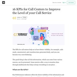 16 KPIs For Call Centers To Improve The Level Of Your Call Service