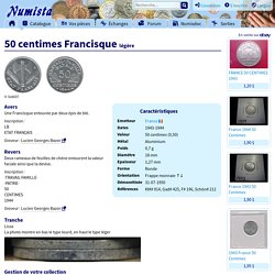 50 centimes Francisque (légère) - France – Numista
