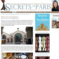 Shops at Le 104 CentQuatre  - Secrets of Paris